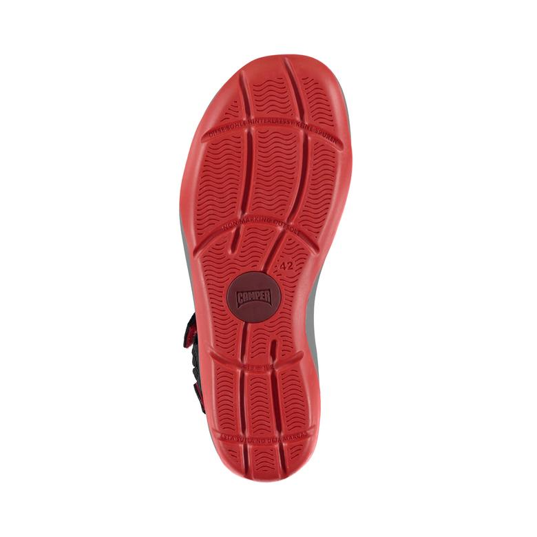 Camper Match Erkek Siyah Sandalet