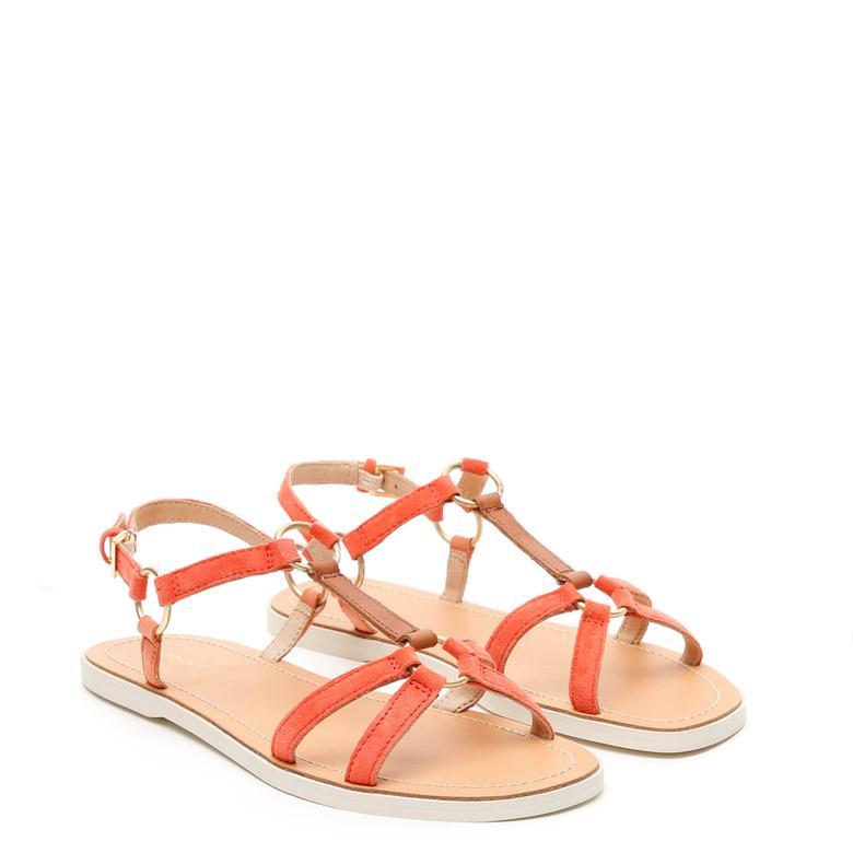 Gant Kadın Turuncu Sandalet