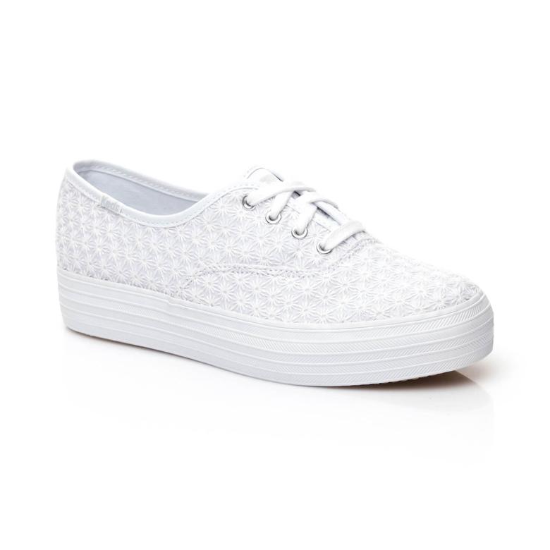 Keds Triple Kadın Beyaz Sneaker