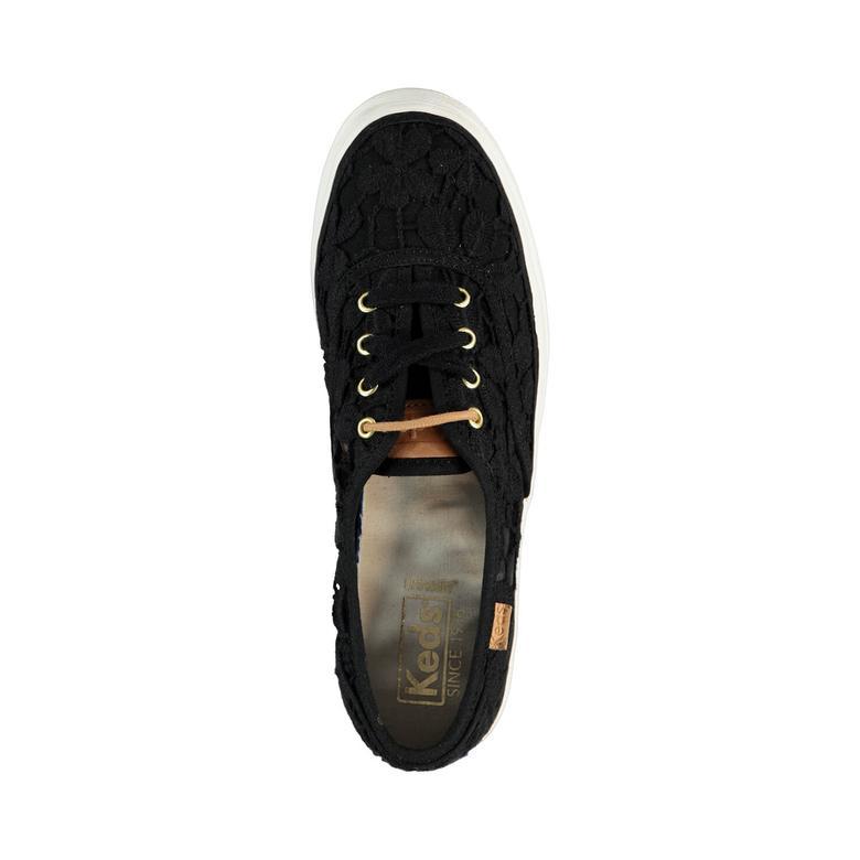 Triple Kadın Siyah Sneaker