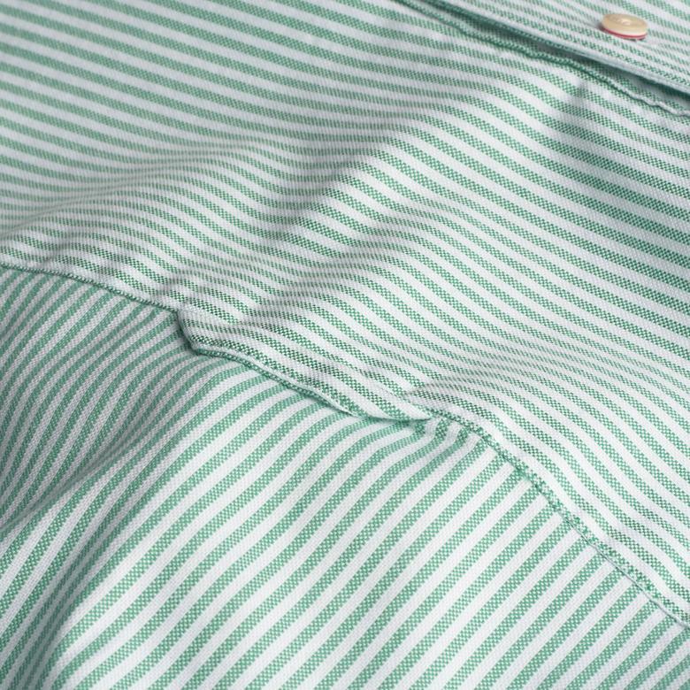 Gant Erkek Yeşil Uzun Kollu Slim Fit Gömlek