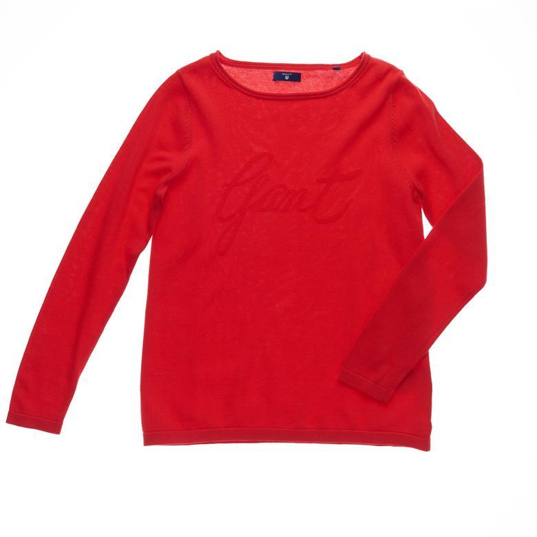 Gant Kadın Kırmızı Uzun Kollu Triko