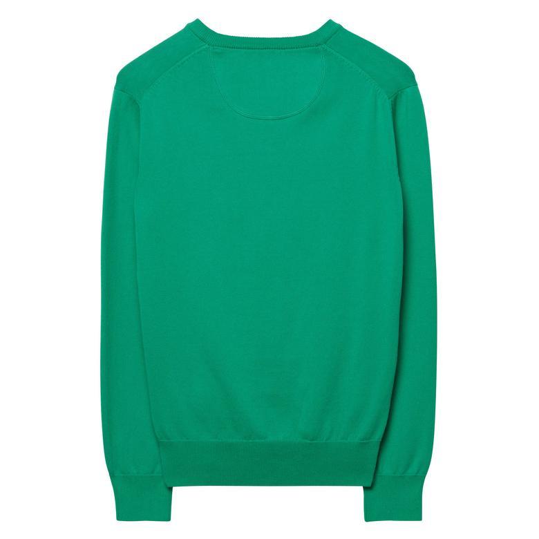 Gant Erkek Yeşil Uzun Kollu Triko