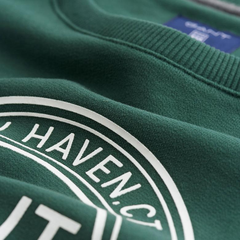 Gant Erkek Yeşil Uzun Kollu Sweatshirt
