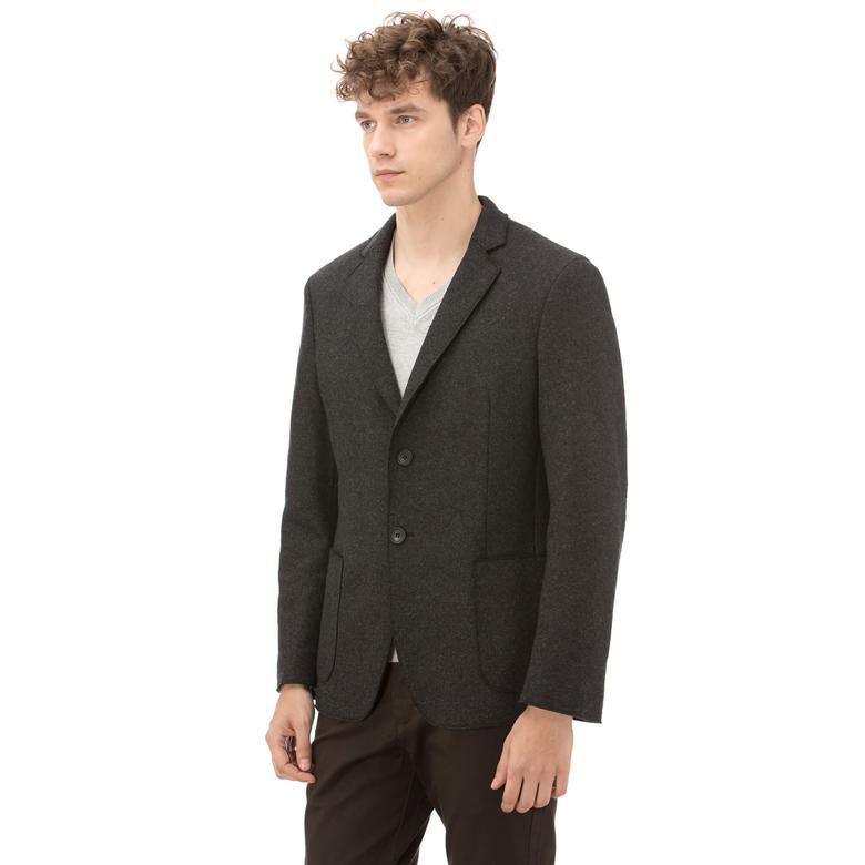 Lacoste Erkek Gri Ceket