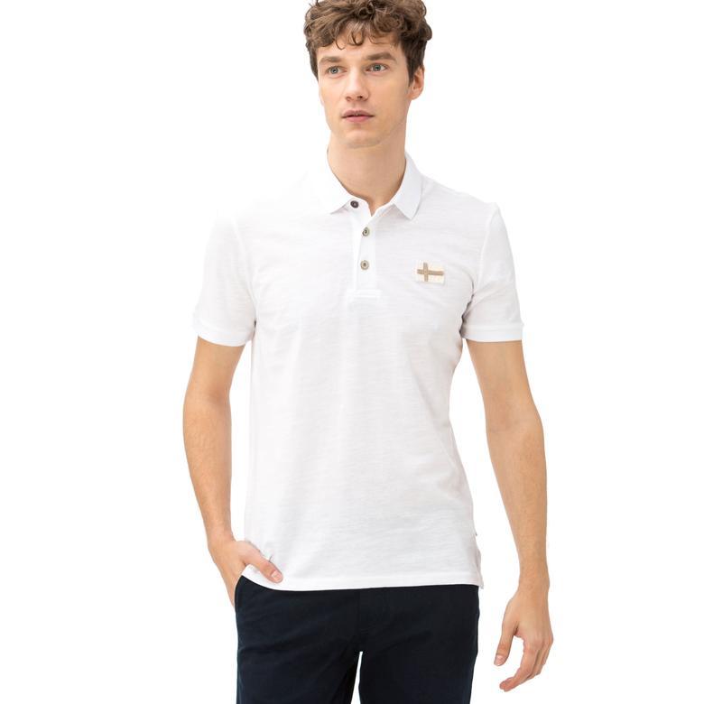 Napapijri Erkek Beyaz T-Shirt