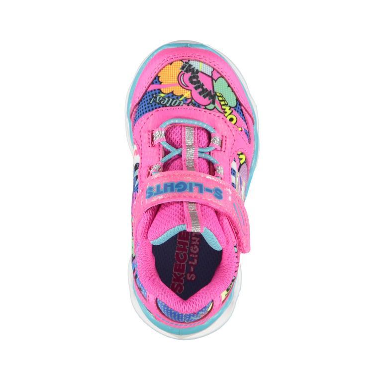 Skechers Lumi-Luxe Çocuk Pembe Işıklı Spor Ayakkabı