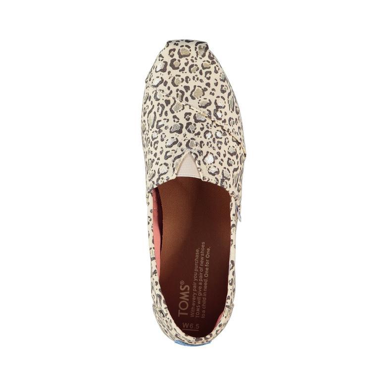 Alpargata Krem Kadın Ayakkabı