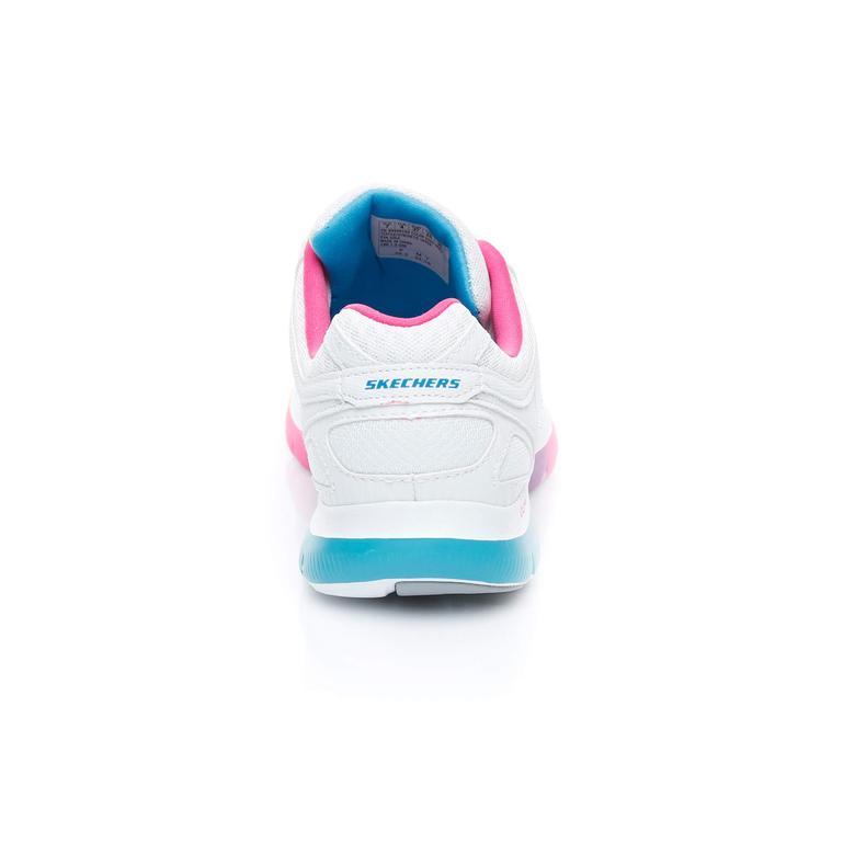 Skechers Flex Appeal 2.0 Kadın Beyaz Sneaker