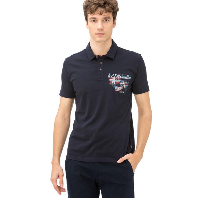 Napapijri Erkek Lacivert T-Shirt