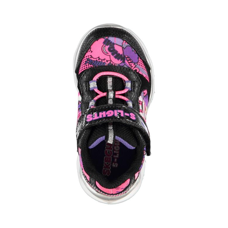 Skechers Lumi-Luxe Çocuk Siyah Spor Ayakkabı