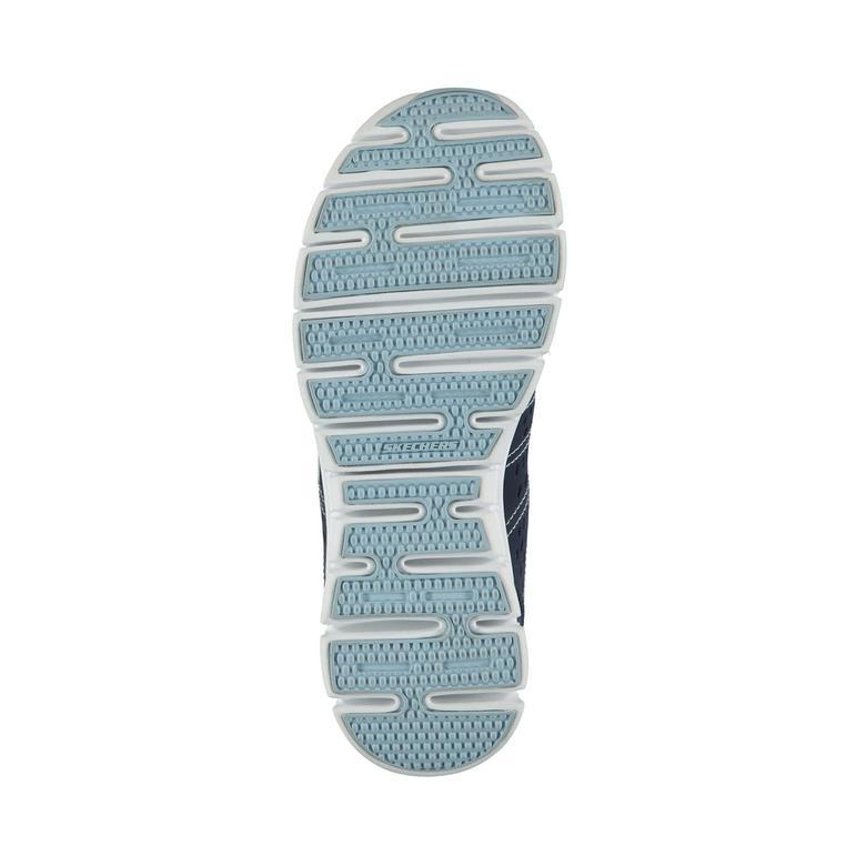Skechers Synergy-Look Book Kadın Lacivert Sneaker
