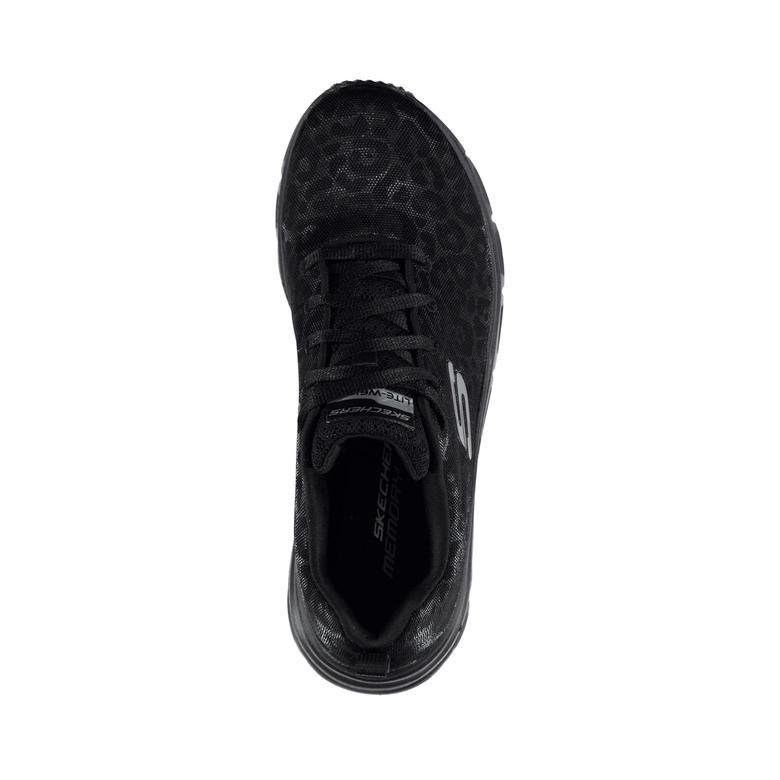 Skechers Fashion Fit-Wild Aura Kadın Siyah Spor Ayakkabı