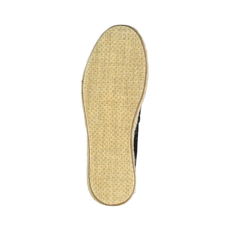Alpargata Siyah Çocuk Ayakkabı