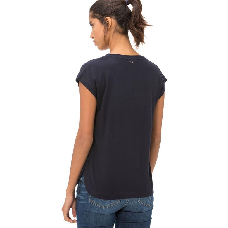 Napapijri Kadın Lacivert T-Shirt
