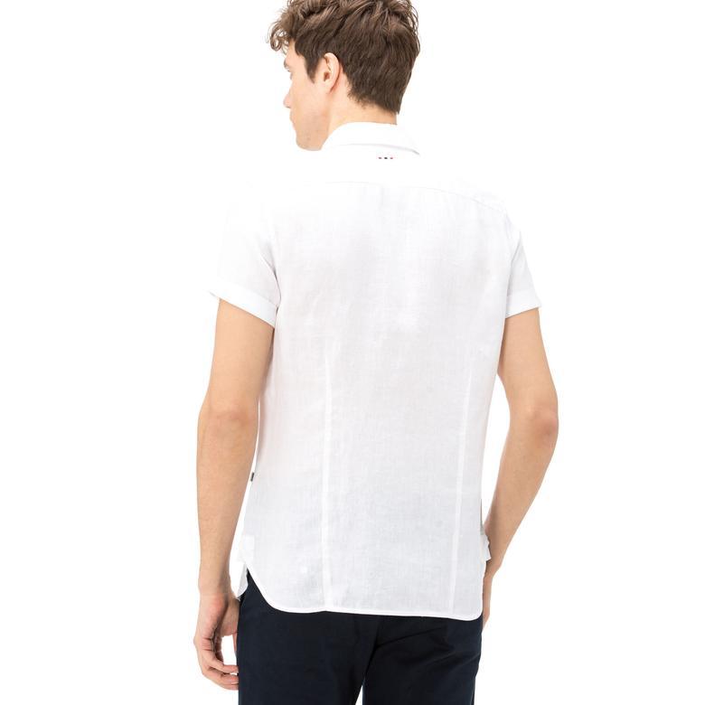 Napapijri Erkek Beyaz Gömlek