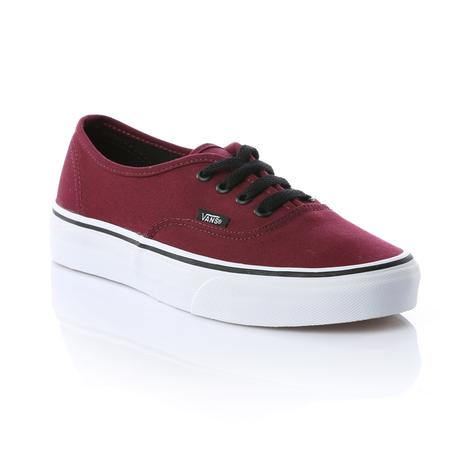 Vans Authentic Unisex Bordo Sneaker