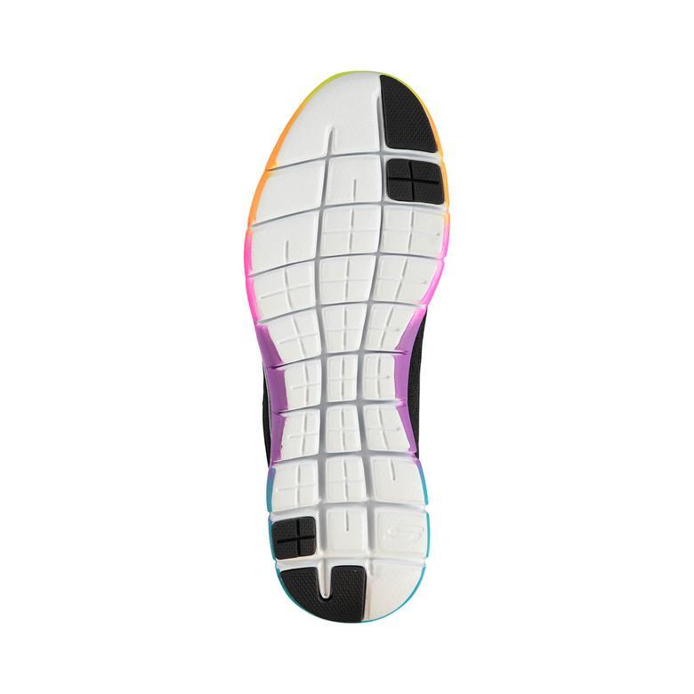 Skechers Flex Appeal 2.0 Kadın Siyah Sneaker