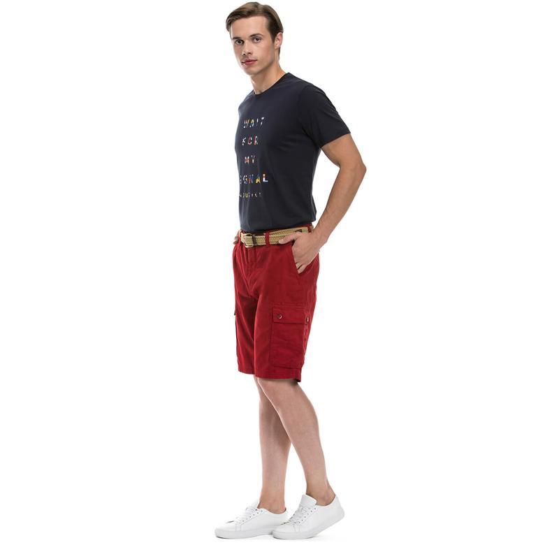 Nautica Erkek Kırmızı Regular Fit Şort