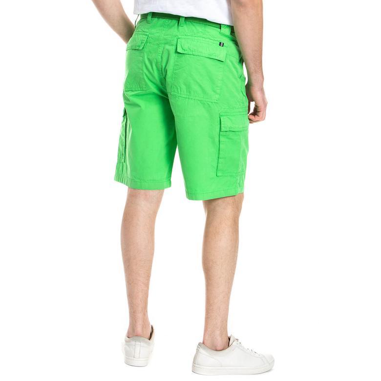 Nautica Erkek Yeşil Regular Fit Şort
