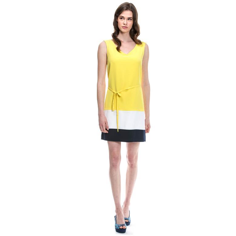 Nautica Kadın Sarı Elbise