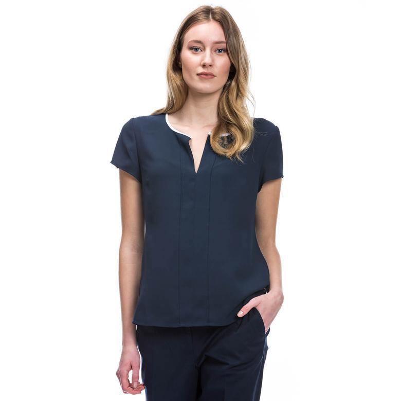 Nautica Kadın Lacivert T-Shirt