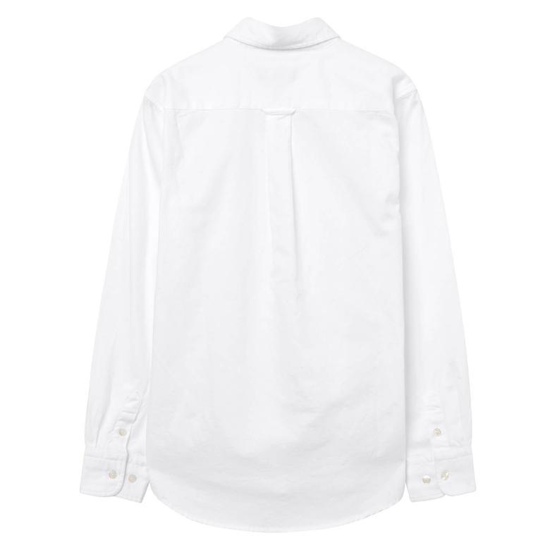 Gant Çocuk Beyaz Uzun Kollu Gömlek