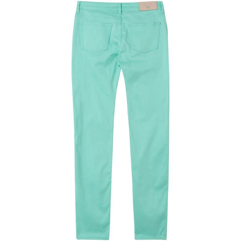 Gant Kadın Mavi Slim Fit Pantolon