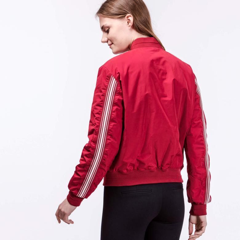 Lacoste Kadın Kırmızı Mont