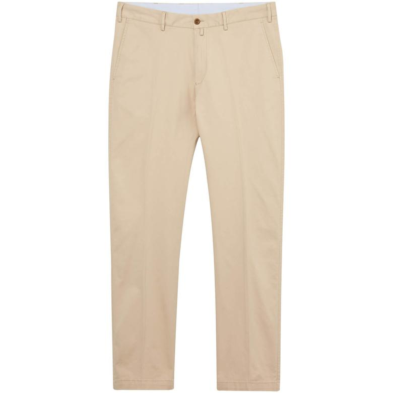 Gant Erkek Krem Regular Fit Pantolon