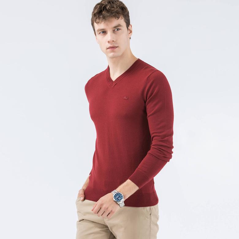 Lacoste Erkek Kırmızı Triko