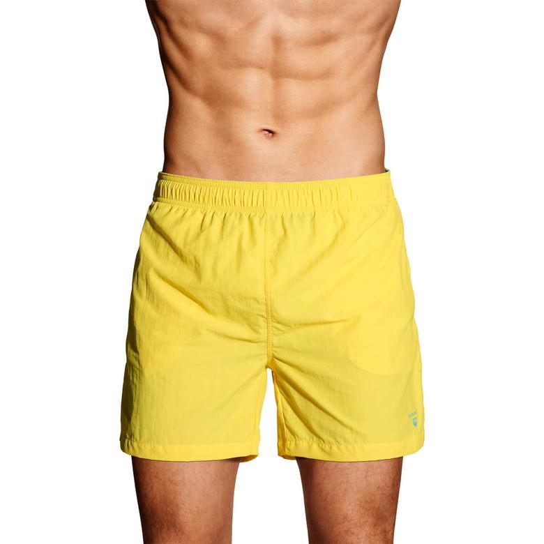 Gant Erkek Sarı Mayoşort