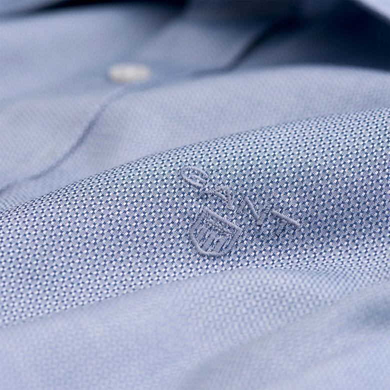 Gant Erkek Lacivert Extra Slim Gömlek