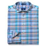 Gant Erkek Mavi Uzun Kollu Slim Fit Gömlek