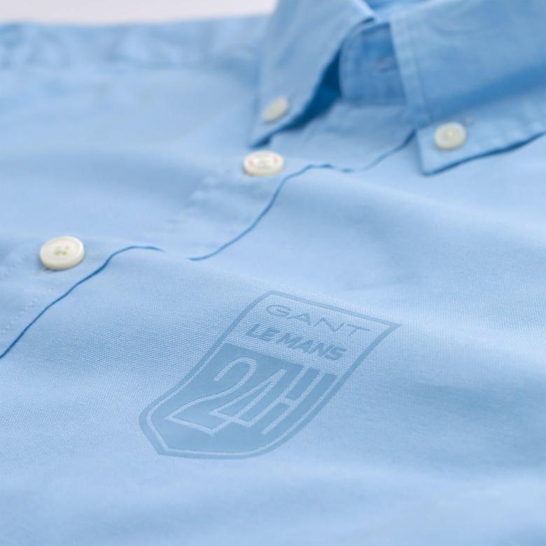 Gant Erkek Mavi Uzun Kollu Slim Fit Oxford Gömlek