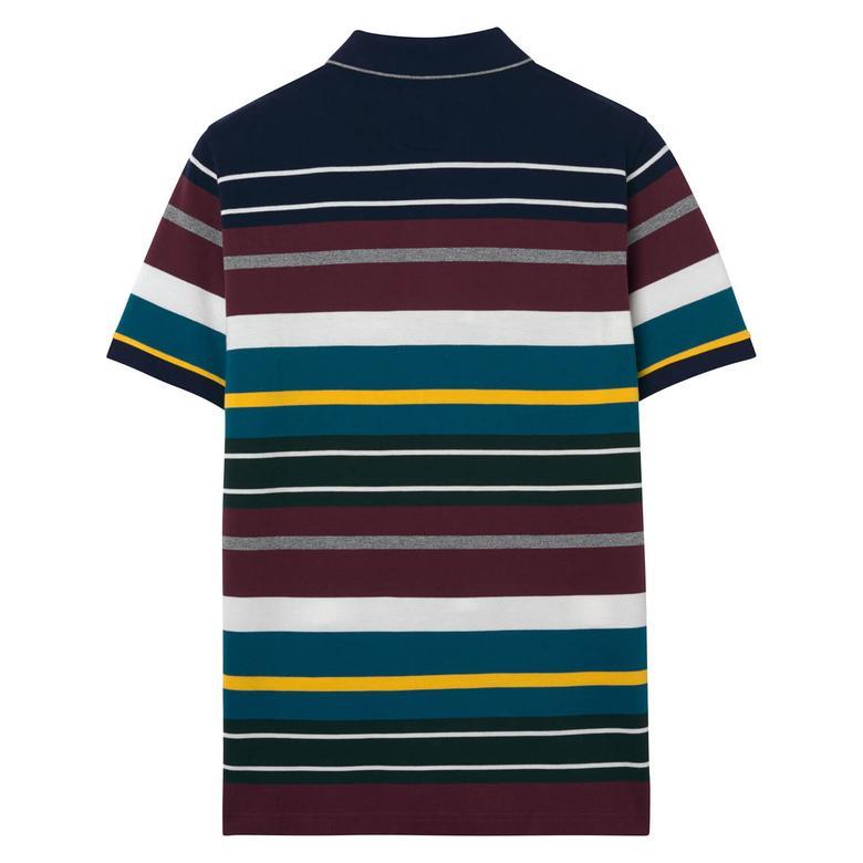 Gant Erkek Renkli Çizgili Polo