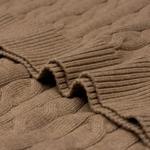 Gant Erkek Kahverengi Saç Örgü Triko