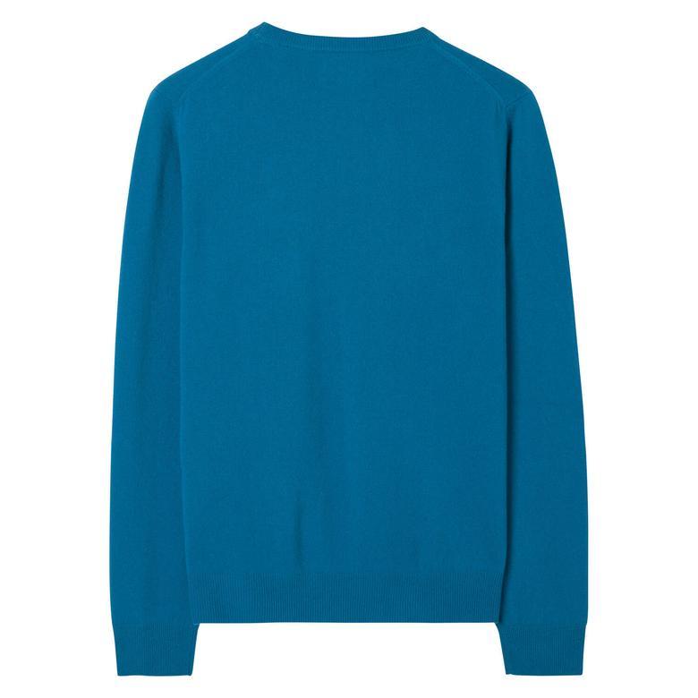 Gant Erkek Mavi Uzun Kollu Triko