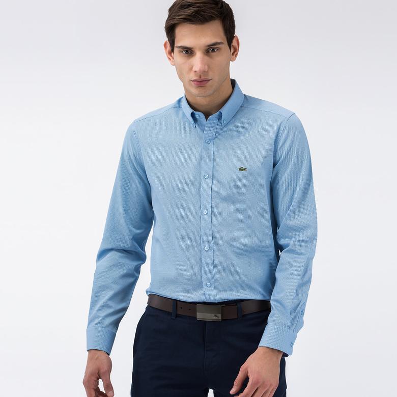 Lacoste Yazlık Açık Mavi Erkek Gömlek