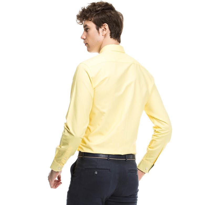 Nautica Erkek Sarı Gömlek