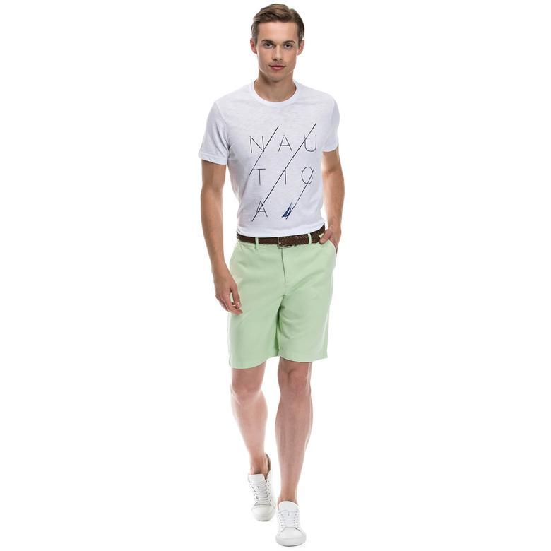 Nautica Giyim Yeşil Bermuda