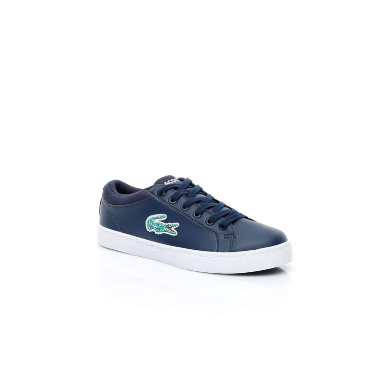 Lacoste Çocuk Lacivert Sneaker