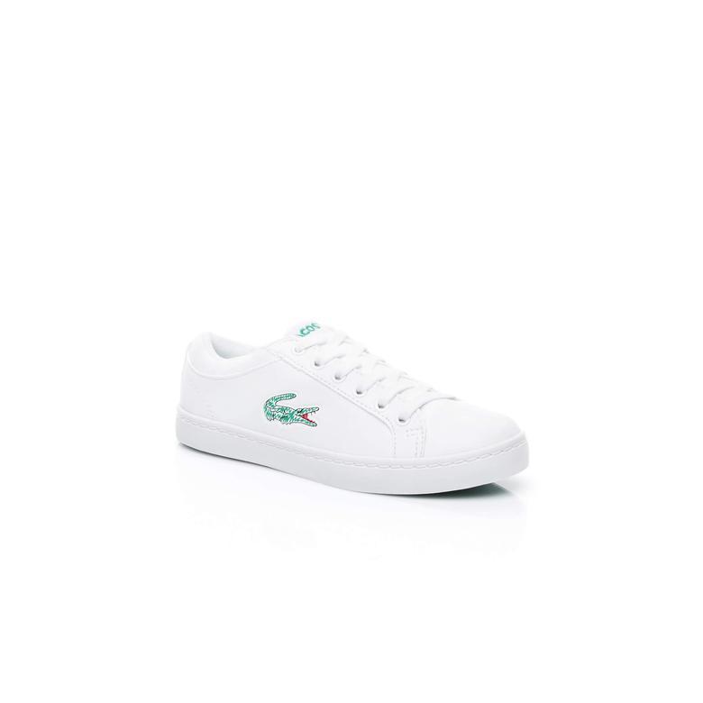 Lacoste Çocuk Beyaz Sneaker