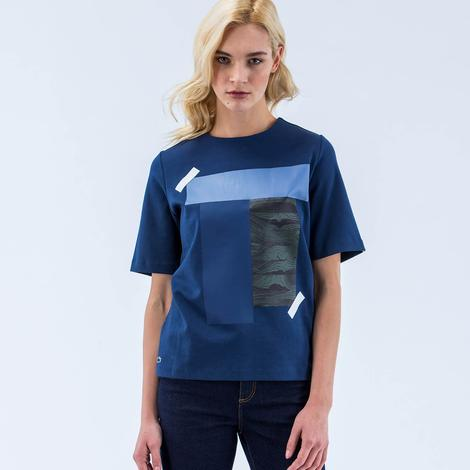 Lacoste Kadın Lacivert Bluz