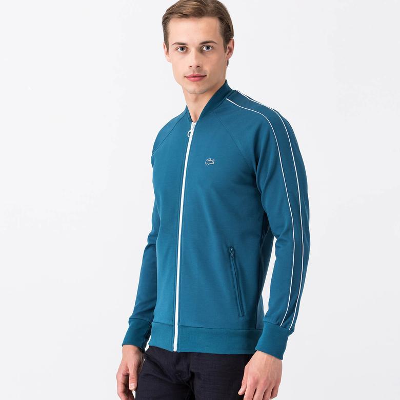 Lacoste Erkek Mavi Sweatshirt