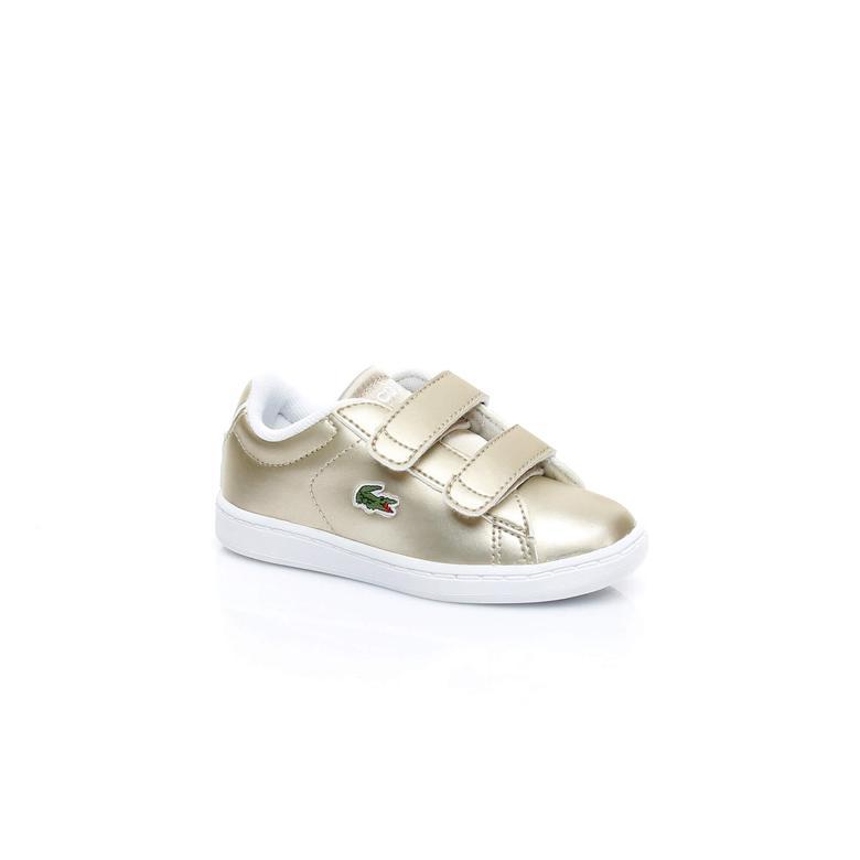 Lacoste Carnaby Evo Çocuk Sarı Sneaker