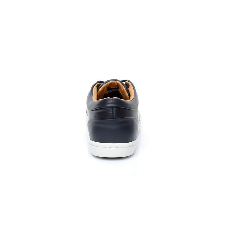 Lacoste Straıghtset 316 3 Erkek Lacivert Sneaker