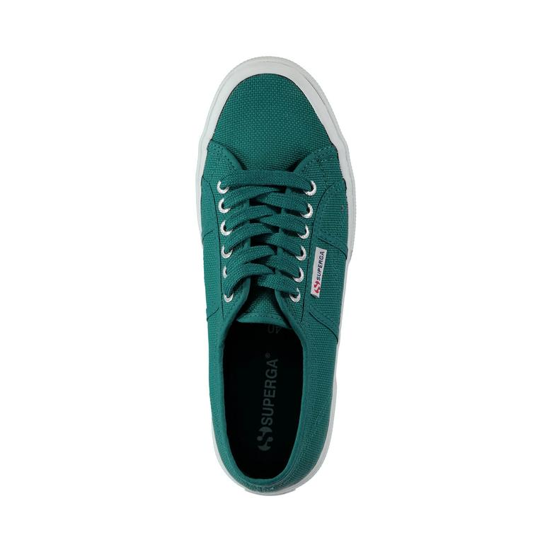 Superga Cotu Classic Unisex Yeşil Sneaker