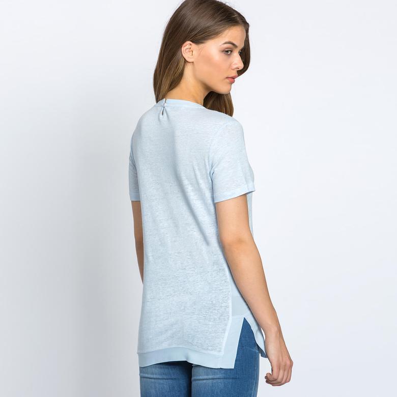Lacoste Kadın Yeşil Kısa Kollu T-Shirt