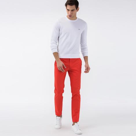 Lacoste Erkek Turuncu Pantolon